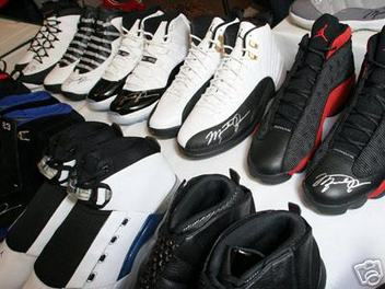 michael jordan shoes pictures